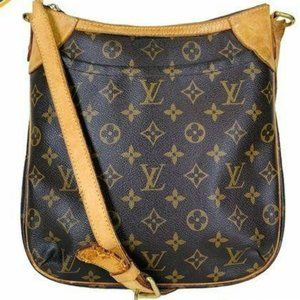 Louis Vuitton crossbody bag odeo PM brown leather
